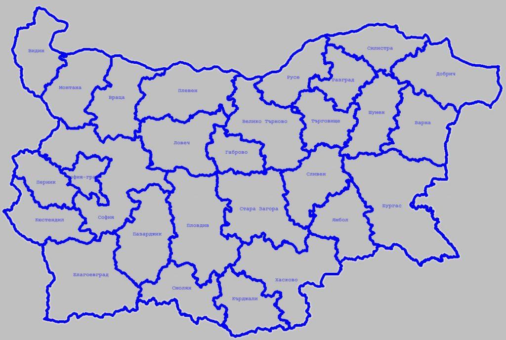 Административна карта